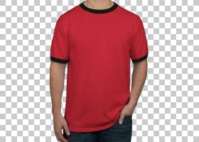 林格T恤长袖T恤,T恤印花PNG剪贴画T恤,时尚,活跃衬衫,上衣,衬衫,