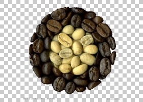 咖啡拿铁艺术绿茶饮料,咖啡豆PNG剪贴画白色,食品,咖啡店,咖啡,黑图片