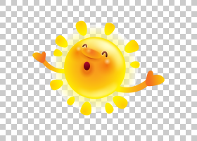 例证,愉快的太阳PNG clipart笑脸,生日快乐矢量图像,夏天,阳光,材