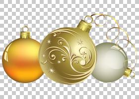 农历新年元旦圣诞节桌面,装饰PNG剪贴画假期,电脑,圣诞节装饰,黄