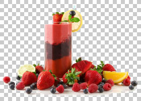 冰沙代基里奶昔水果柠檬水,果汁玻璃PNG剪贴画天然食品,fruttiDiB