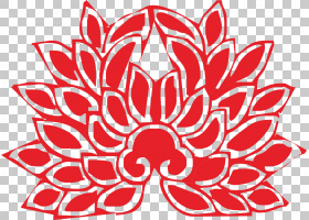 Nelumbo nucifera佛教佛陀,红莲花PNG剪贴画画,食品,手,海报,对称
