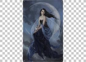 童话版画艺术Powerborn,预订Zarryiostrom之一,安静的月亮PNG剪贴