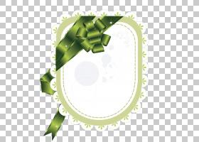 绿丝带PNG剪贴画功能区,封装的PostScript,水果,绿丝带,圆形,phot