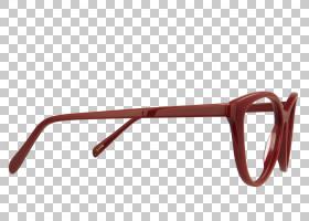 太阳镜眼镜护目镜,精美框架PNG剪贴画角,棕色,矩形,眼镜,视力保健