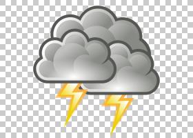 雷暴云免费内容,危险天气的PNG剪贴画角,云,雷声,风暴,龙卷风,雷