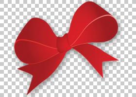 领带领结丝带,假日丝带PNG剪贴画爱,心,对象,红色,情人节S天,领带