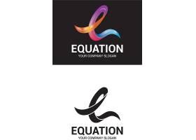 创意字母与图形共生融合个性LOGO设计