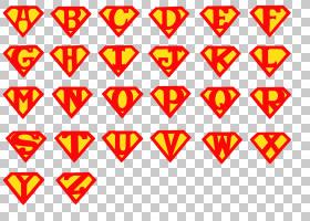 超人标志漫画超级英雄字体,超人,字母艺术PNG剪贴画英雄,文字,漫
