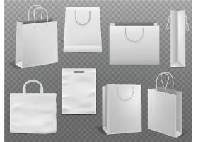 白色袋子包装设计VI展示样机