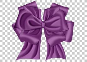 紫色丝带纸,紫色丝带弓PNG剪贴画杂项,紫色,丝带,紫罗兰色,简单,