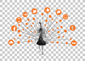 数字营销内容营销业务,内容PNG剪贴画公司,文本,内容营销,橙色,电