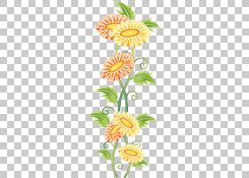 花卉装饰花卉设计绿色花卉PNG剪贴画插花,叶,植物茎,花卉,数字图