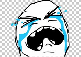 愤怒的漫画绘画互联网模因哭泣巨魔哭泣的模因插图PNG剪贴画漫画,