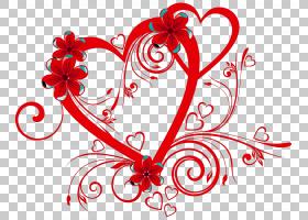 花心情人节铃铛PNG剪贴画爱,文本,心,花卉,桌面壁纸,性质,对象,器