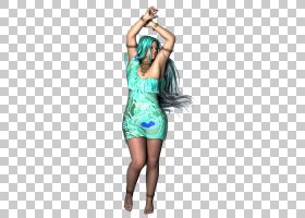 服装绿松石蓝绿色的肩膀服装舞者PNG剪贴画杂项,人民,时尚,其他,