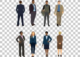服装西装求职面试着装要求商务休闲服饰男女插图PNG剪贴画公司,公