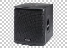 低音炮音频扩声系统D类放大器,扬声器PNG剪贴画电子产品,扬声器,