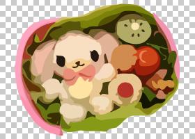 便当日本料理午餐盒Kyaraben寿司PNG剪贴画食品,烹饪,花卉,可爱,