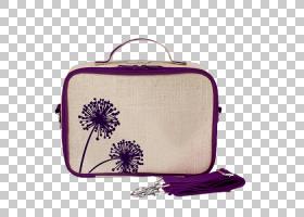 便当饭盒保暖袋紫色蒲公英PNG剪贴画杂项,紫色,儿童,紫罗兰色,纺