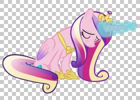 公主Cadance小马暮光闪闪有翼的独角兽,睡眠独角兽PNG Clipart杂