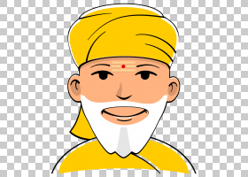 Pandit幸福头巾PNG剪贴画杂项,儿童,脸,已,其他,头,男孩,图释,微