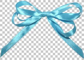 丝带蓝色,弓PNG剪贴画杂项,蓝绿色,弓,材料,封装PostScript,银,对