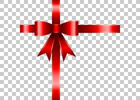 丝带装饰盒礼品,弓PNG剪贴画杂项,弓,免版税,红色,对象,线,罗缎,