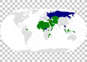 伊斯兰合作组织世界地图世界地图,伊斯兰教PNG剪贴画英语,世界各