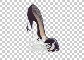 高跟鞋鞋凉鞋,高跟鞋PNG剪贴画紫色,彩绘,摄影,手,配件,鞋跟,高跟