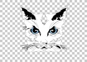猫小猫小狗虎,猫服装模式PNG剪贴画白色,哺乳动物,猫像哺乳动物,