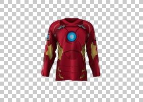 曲棍球运动衫T恤冰球热升华打印机,钢铁侠PNG剪贴画T恤,超级英雄,