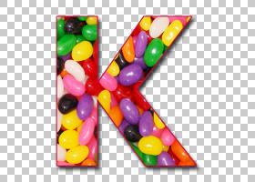 果冻豆字母表明胶点心棒棒糖,黑豆PNG剪贴画食品,信箱,k,食品饮料