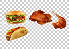 滑块汉堡芝士汉堡鸡肉三明治,鸡肉汉堡PNG剪贴画食品,牛肉,食谱,