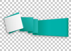 几何文本框欧几里德,文本框,绿色和白色丝带艺术PNG剪贴画杂项,蓝
