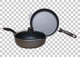 炊具煎锅餐具不粘表面感应烹饪,炊具PNG剪贴画厨房,煎锅,盖子,不