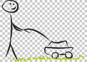 草坪割草机场机器人割草机,草坪PNG剪贴画杂项,白色,叶,文本,其他