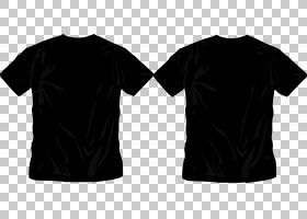 T恤服装尺码制服,T恤PNG剪贴画T恤,活动衬衫,黑色,上衣,t恤,袖子,