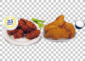 布法罗翼炸鸡快餐鸡块肯德基,鸡翅PNG剪贴画食品,食谱,鸡肉,鸡翅,