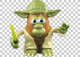 Mr. Potato Head Yoda Toy Anakin Skywalker Obi-Wan Kenobi,土