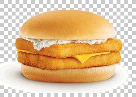 Filet-O-Fish汉堡包快餐麦当劳鱼三明治,鸡蛋PNG剪贴画食品,动物,
