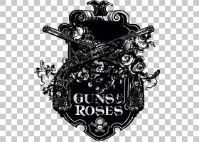 Logo Guns NRoses图形设计,音乐乐队PNG剪贴画杂项,会徽,标签,其
