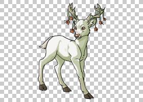 驯鹿绘图动漫,水彩鹿PNG剪贴画鹿茸,哺乳动物,动物,赤壁,脊椎动物