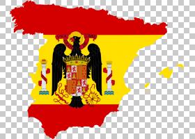 西班牙国旗Francoist西班牙地图,西班牙语PNG剪贴画杂项,标志,文