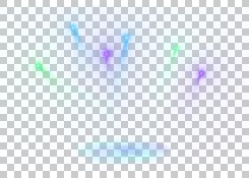 轻的天空特写镜头,蓝色简单的光线影响元素PNG clipart紫色,效果,