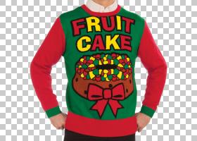 水果蛋糕圣诞跳线T恤毛衣,芝加哥熊PNG剪贴画T恤,虚构人物,运动,