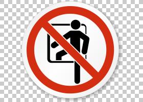 密闭空间没有符号危险标志标签,其他PNG剪贴画杂项,标签,警告标志