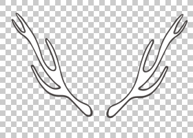 标志图形设计,LOGO复古手绘元素标志免费的PNG剪贴画杂项,鹿角胶,