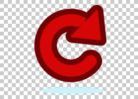 箭头设计师,红色转向箭头PNG剪贴画爱,文本,心脏,红丝带,红色转动
