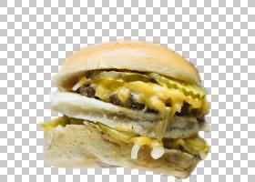 汉堡芝士汉堡滑块早餐三明治布法罗汉堡,蒸汽包子PNG剪贴画食品,